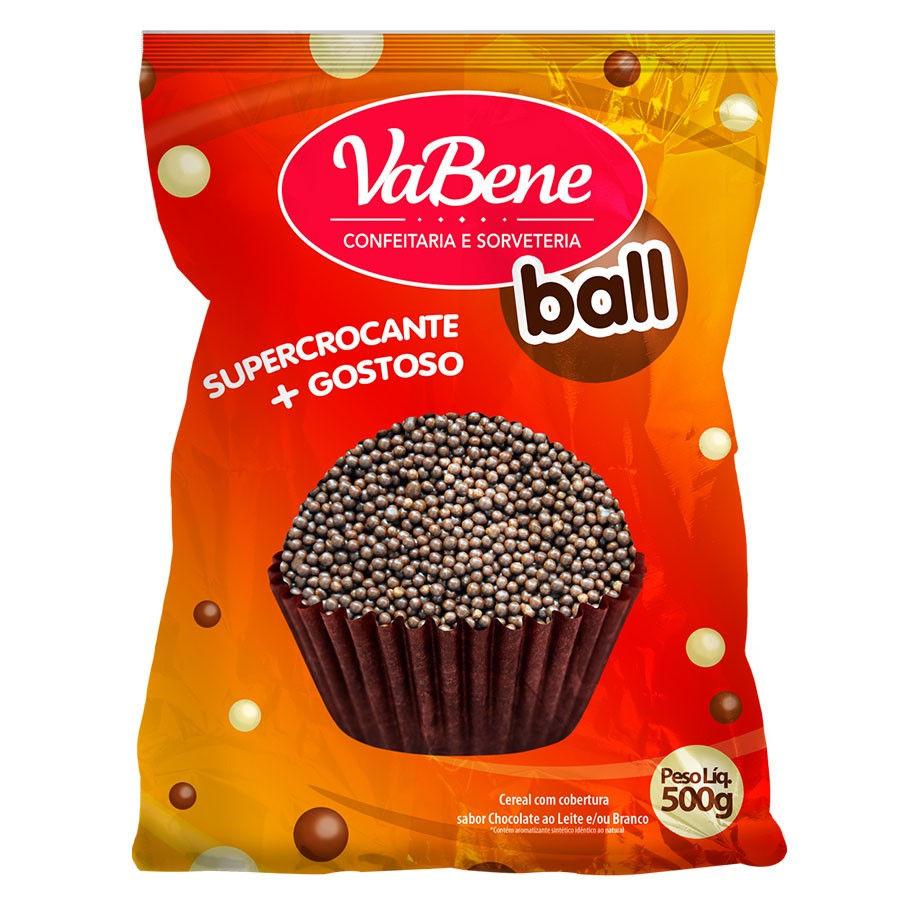 Cereal coberto com chocolate (chocoball) - Vabene