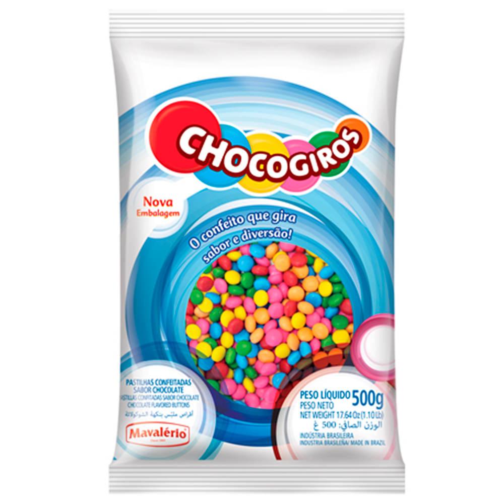 Mini pastilha (disquete) Choco Giro - Mil cores